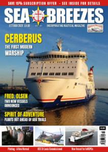 Sea Breezes October 2020 Cover