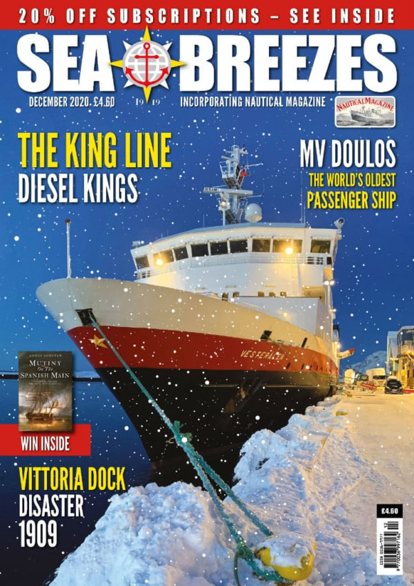 Sea Breezes December 2020 Cover